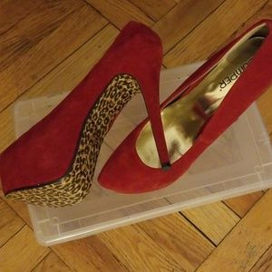 Shoes - Hot Red Pumps